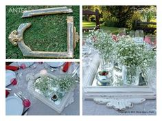 MOLDURA SANTIAGO * Before & After * By Once Upon a Trash