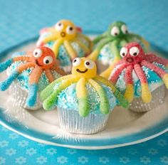 cute & easy Octopus cupcakes