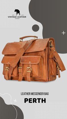 Vintage Leather Messenger Bag, Messenger Bag Men, Leather Wallet, Leather Bag, Brown Leather, Satchel, Crossbody Bag, Online Bags, Laptop Bag