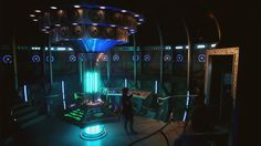I like the new TARDIS more than the new title sequence. Love all the Gallifreyan.
