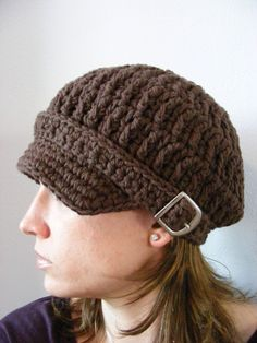 Womens Newsboy Hat