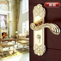 European Door Set With Crystal Glass Lever Handles   Door sets ...
