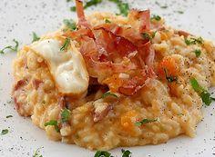 Cucina Internazionale: Italia         Ingredienti: x 4 persone      320  grammi di  Riso Carnaroli  400  grammi di  Zucca gialla  150 ...