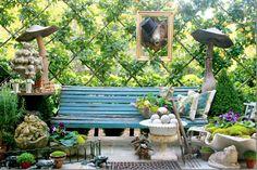 fantastical garden/ House Beautiful