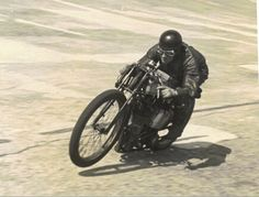 Noel Pope, set final Brooklands motorcycle & sidecar outfit outer circuit lap records