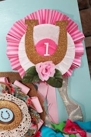 Horses and Hairbows Party | Hand-Crafted Prize Ribbons