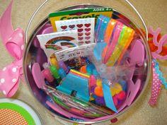 Kids birthday craft/art supplies gift