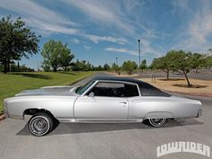 1971 motecarlo lowrider | 1971 Monte Carlo Side View Photo 4