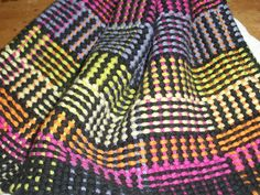 color and weave dishcloths
