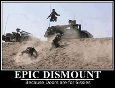 doors are... for sissies
