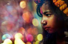 Spring festival: Flower seller, Bangladesh