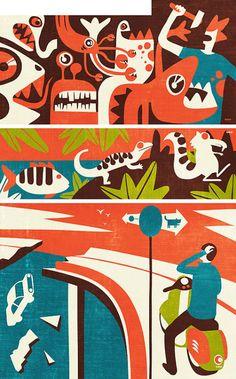 iv orlov, illustration, russia