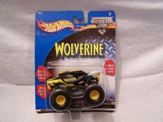 2002 Hot Wheels Monster Jam Red Dot WOLVERINE 1:64 Scale Collectible Truck