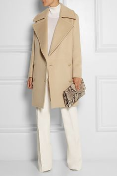 Stella McCartney | Fiamma double-breasted brushed-wool coat | NET-A-PORTER.COM