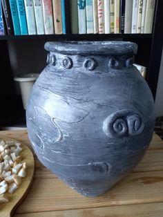 Doba bronzová Iron Age, Copper, Bronze, Vase, Homemade, Home Decor, Decoration Home, Room Decor, Hand Made