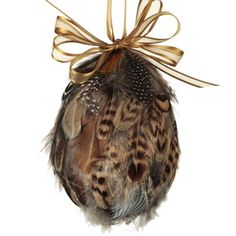 Feather Egg (Christmas Tree decoration?)