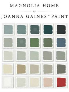 Joanna Gaines new paint line.  Meet Magnolia Home, The Newest Paint Line You'll Love