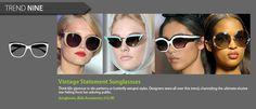 Vintage Statement Sunglasses