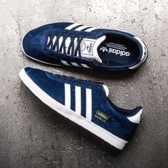 412802fc5b098a Adidas Gazelle OG in Indigo is available online now -