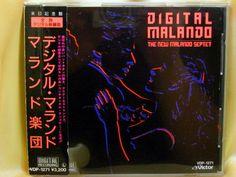 CD/Japan- NEW MALANDO SEPTET w/OBI RARE OOP 1987 Evert Overweg Henny Langeveld #ContinentalTangoTango