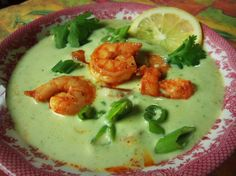 Avocado Shrimp Bisque - Hispanic Kitchen