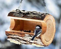 Felled wood feeder
