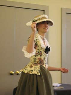 Living with Jane: 18th Century: Caraco Jacket