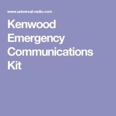 Kenwood Emergency Communications Kit