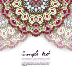 Fondo blanco decorado con mandalas vector gratuito Wedding Invitation Background, Wedding Invitations, Mandala Design, Mandala Art, Yoga Everyday, Wedding Album, Islamic Art, Pattern Paper, Lorem Ipsum
