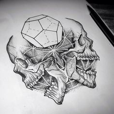 #Skulls #Tattooideas #Tattoo #Tattoos #Ink #Inked #BodyArt #Artwork