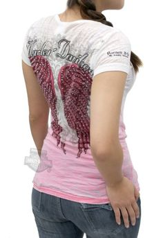 Harley-Davidson Womens Ombre Studded...