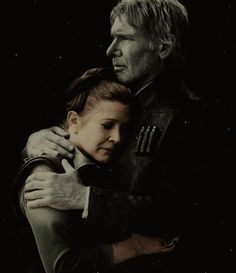 "He put his hands on her shoulders, and thirty years fell away in an instant.  ""Leia, there's something I've been wanting to say to you for a long time.""  Fighting to hold back tears, she put a finger to his lips. ""Tell me when you get back.""  He started to object, caught himself. There'd been too much arguing over the years, he knew."