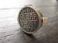 Reversible Flip Ring Mustard Mix by celiefago on Etsy, $300.00