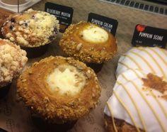 Pumpkin Cream Cheese Streusel Muffins, gluten-free, dairy-free, egg-free, vegan   In Johnna's Kitchen