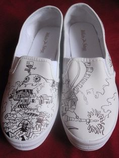 newest collection 16c59 2ad81 Howl s Moving Castle Shoes I love it )