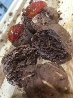Cocoa Biscuits With Almond! See our bonus recipe! Biscotti, Cocoa, Almond, Cookies, Chocolate, Desserts, Recipes, Biscuits, Deserts