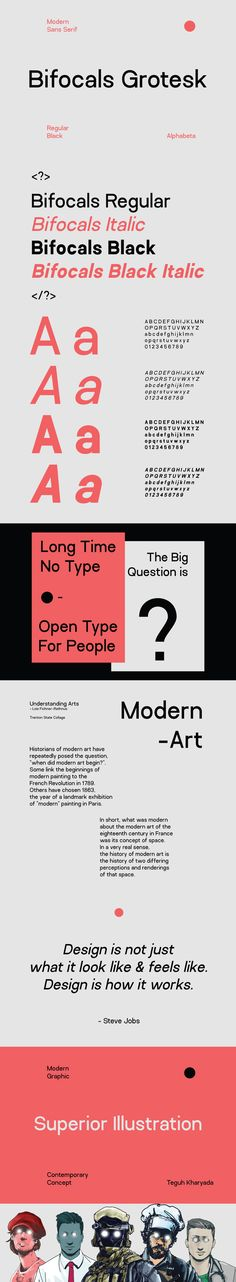 Bifocals Grotesk is a new 4 font family made with a geometric and modern concept by Habib Otang. Having 2 weights along with italics makes Bifocals Grotesk extremely useful when you need a easy to read workhorse sans serif.Free for personal & Commercial… Commercial Use Fonts, Modern Sans Serif Fonts, Font Packs, Typeface Font, Typographic Design, Font Family, Brand Guidelines, Typography Letters, Hand Lettering