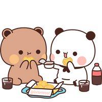 Cute Anime Cat, Cute Bunny Cartoon, Cute Cartoon Pictures, Cute Love Pictures, Cute Love Cartoons, Wallpapers Kawaii, Cute Cartoon Wallpapers, Cute Bear Drawings, Chibi Cat