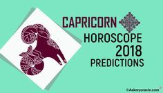 Capricorn Horoscope 2018 Forecast to know about your health, finance, business, love relationship of the zodiac signs reading 2018 Capricorn predictions.