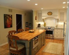 Traditional Kitchen Islands And Kitchen Carts Design, Pictures, Remodel, Decor and Ideas - page 7