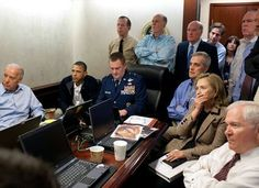 Removing Women from Situation Room Photo » Sociological Images