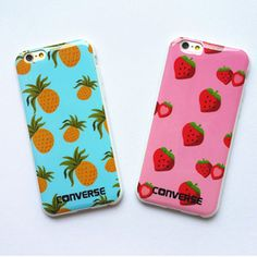 Cute Hot Fruit Strawberry Pineapple soft TPU case cover for apple iphone6 plus  #UnbrandedGeneric