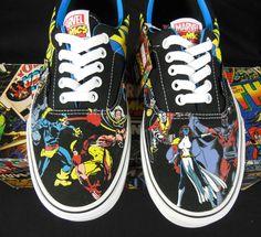 Vans X-Men Marvel Comics Kicks / Sneakers