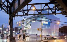 Steven Holl Architects, Iwan Baan, Chris Mcvoy · Campbell Sports Center · Divisare