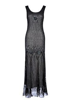 Lena Grey Black Beaded Flapper Dress, 1920s Great Gatsby Style Dress, Embellished Art Deco, Downton Abbey, Evening Gown, Plus Size, S-XXXXL by Jywal on Etsy