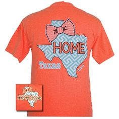 Preppy State Texas (Short Sleeve Comfort Color)