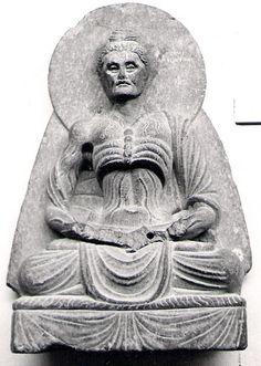 Starving Buddha, Lahore Museum, Pakistan