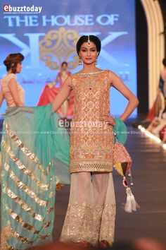 The House of Kamiar Rokni - PFDC L'Oréal Paris Bridal Week 2013 - Entertainment News by EbuzzToday - Entertainment News by EbuzzToday Pakistani Couture, Pakistani Bridal Wear, Pakistani Outfits, Indian Outfits, Indian Bridal, Ethnic Fashion, Asian Fashion, Couture Dresses, Bridal Dresses