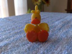 cute little duck figure.