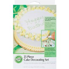 Cake Decorating Set-25 Pieces